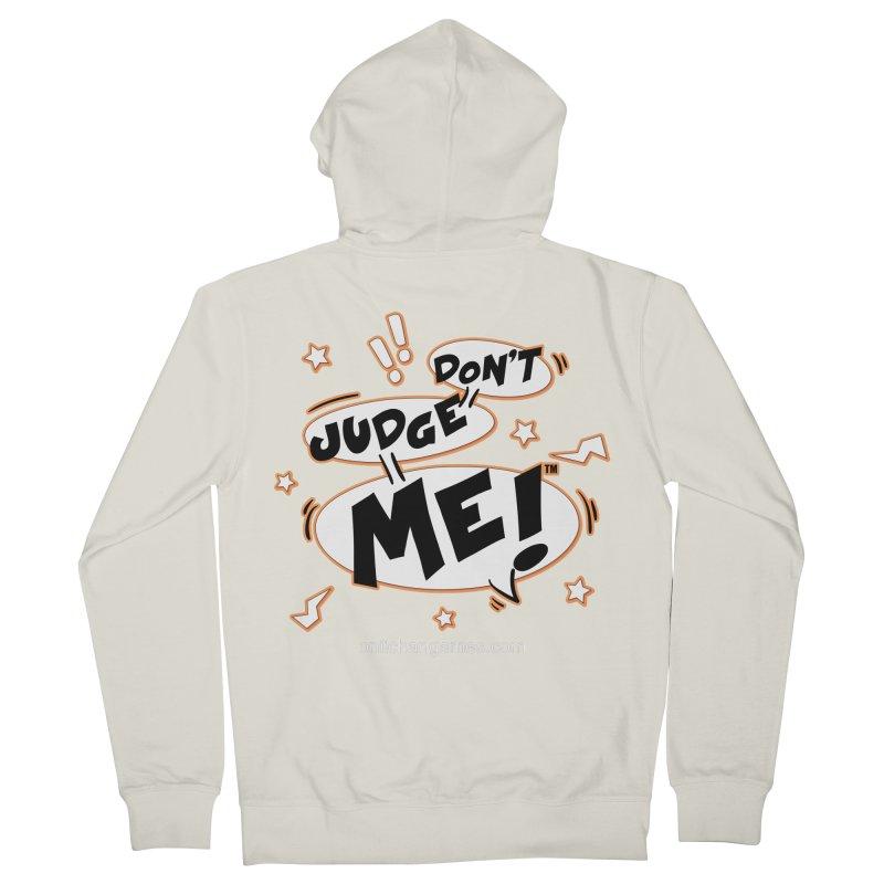 Don't Judge Me! Card Game Men's Zip-Up Hoody by OniiChan's Artist Shop