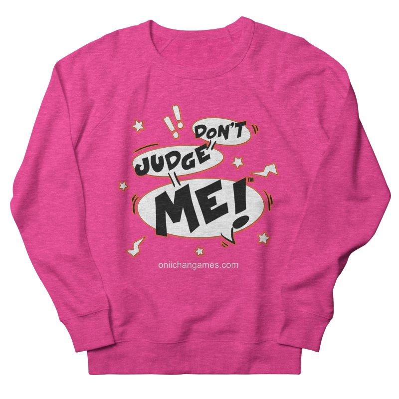 Don't Judge Me! Card Game Men's Sweatshirt by OniiChan's Artist Shop