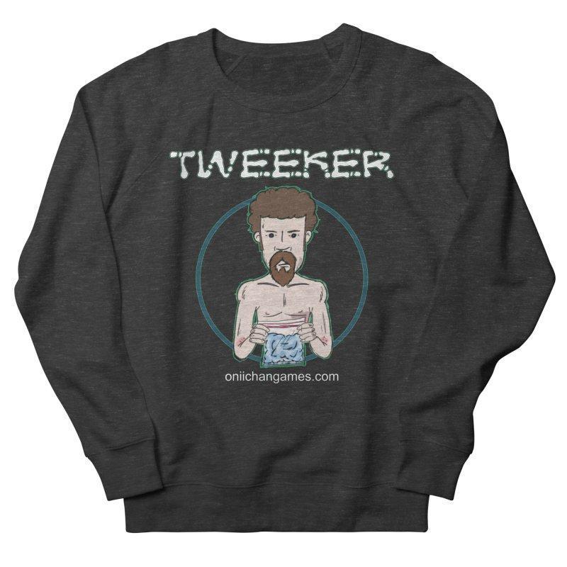 Tweeker Card Game Men's French Terry Sweatshirt by OniiChan's Artist Shop