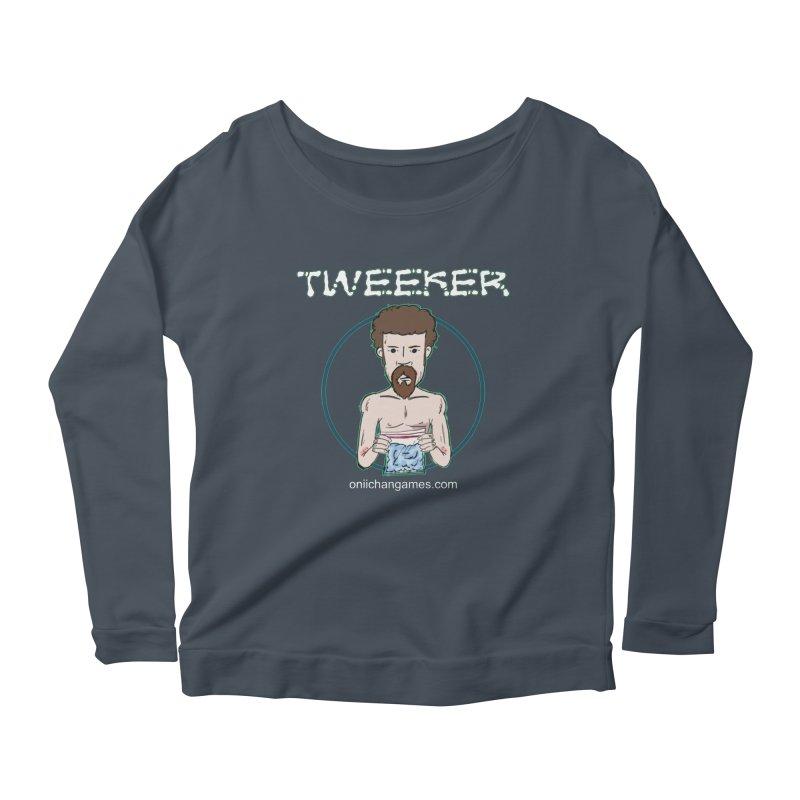 Tweeker Card Game Women's Scoop Neck Longsleeve T-Shirt by OniiChan's Artist Shop