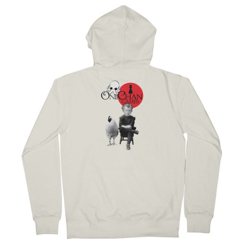 Oniichan Chicken Boy Men's Zip-Up Hoody by OniiChan's Artist Shop