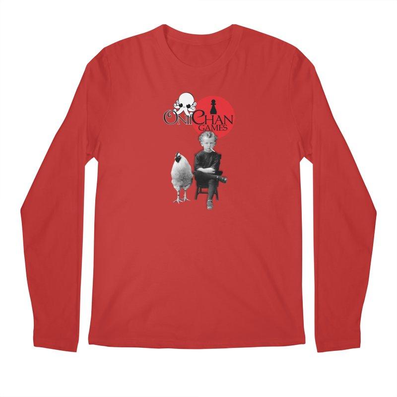 Oniichan Chicken Boy Men's Regular Longsleeve T-Shirt by OniiChan's Artist Shop