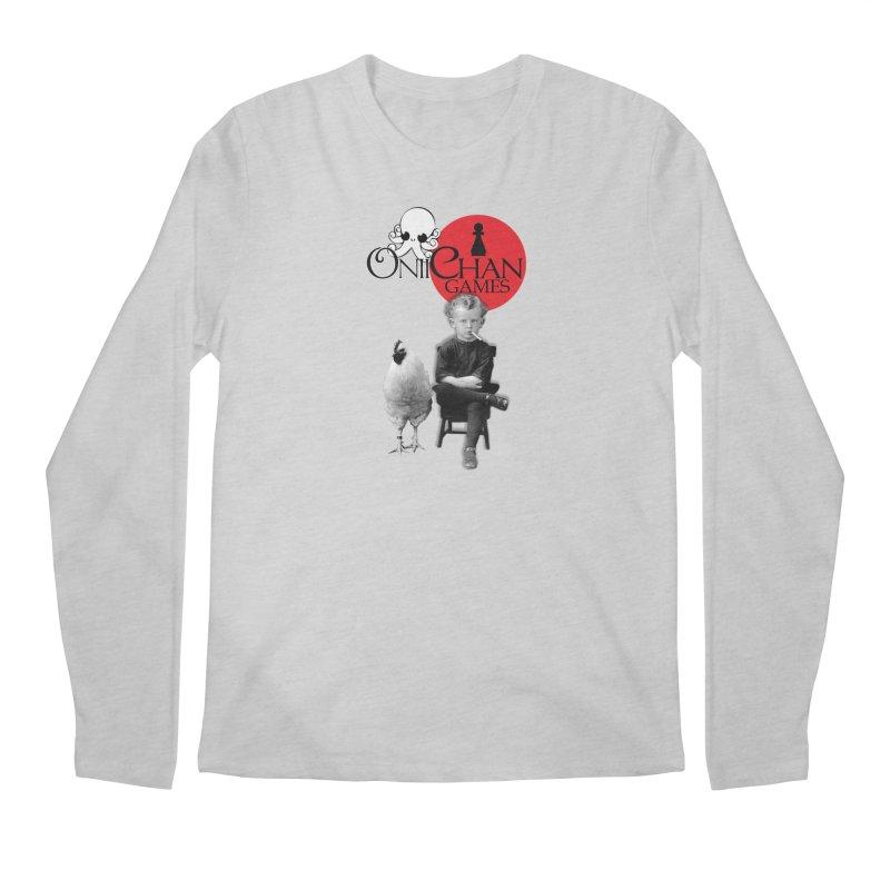 Oniichan Chicken Boy Men's Longsleeve T-Shirt by OniiChan's Artist Shop