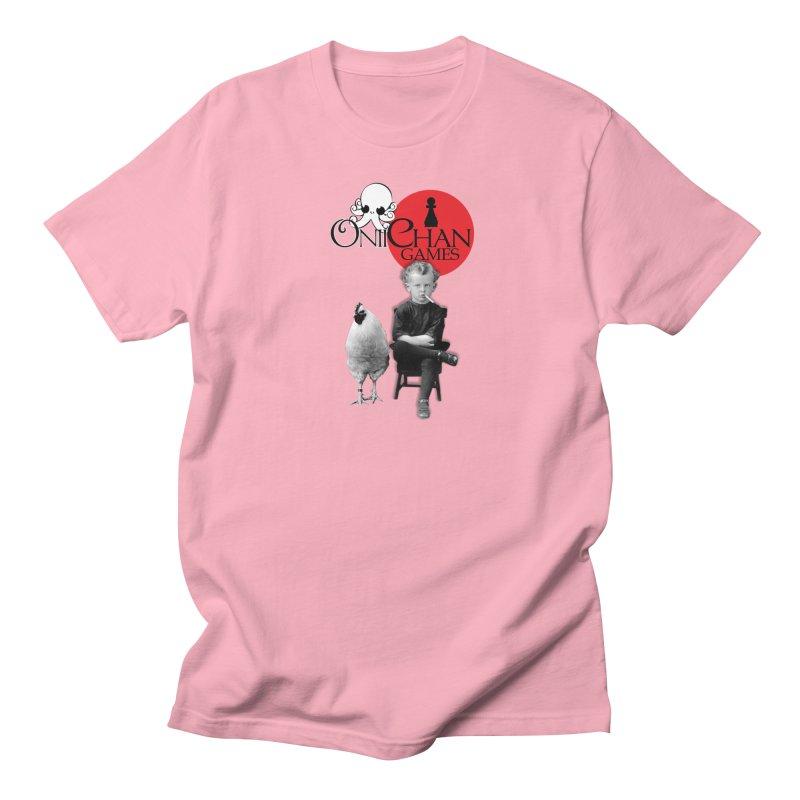 Oniichan Chicken Boy Men's T-Shirt by OniiChan's Artist Shop