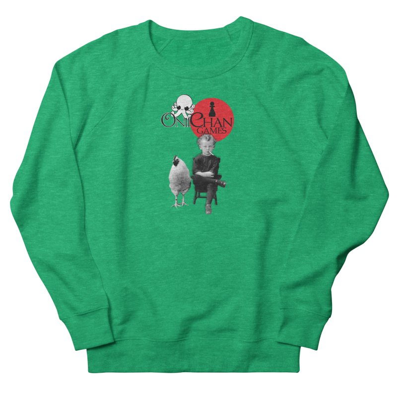 Oniichan Chicken Boy Men's French Terry Sweatshirt by OniiChan's Artist Shop