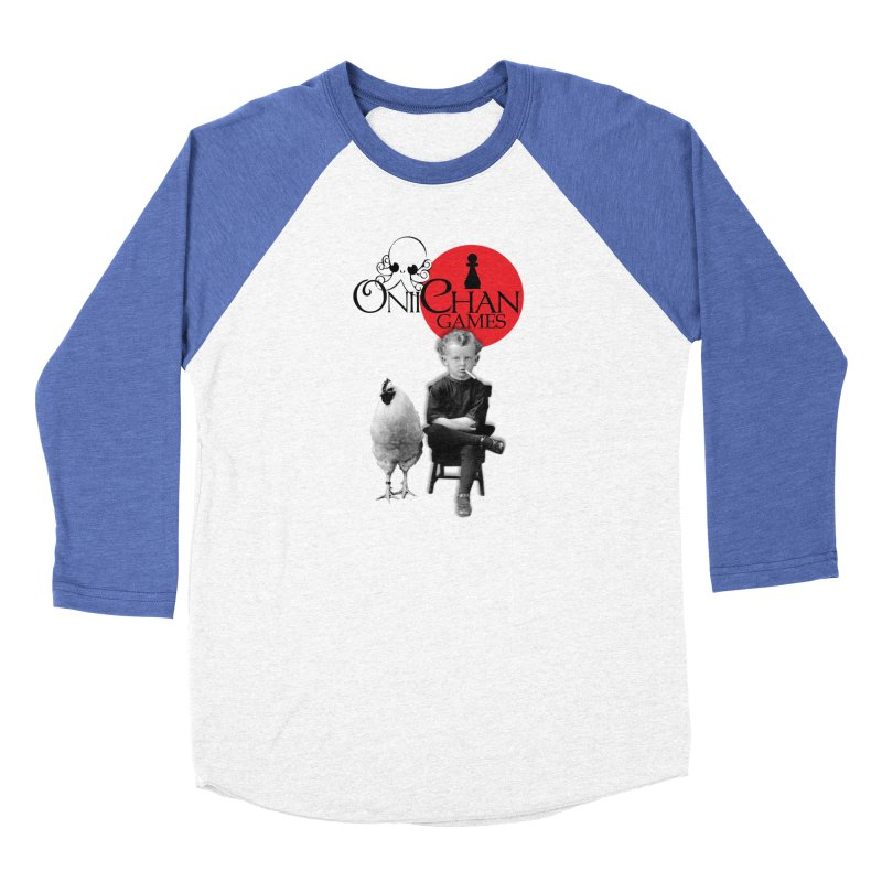 Oniichan Chicken Boy Women's Baseball Triblend Longsleeve T-Shirt by OniiChan's Artist Shop