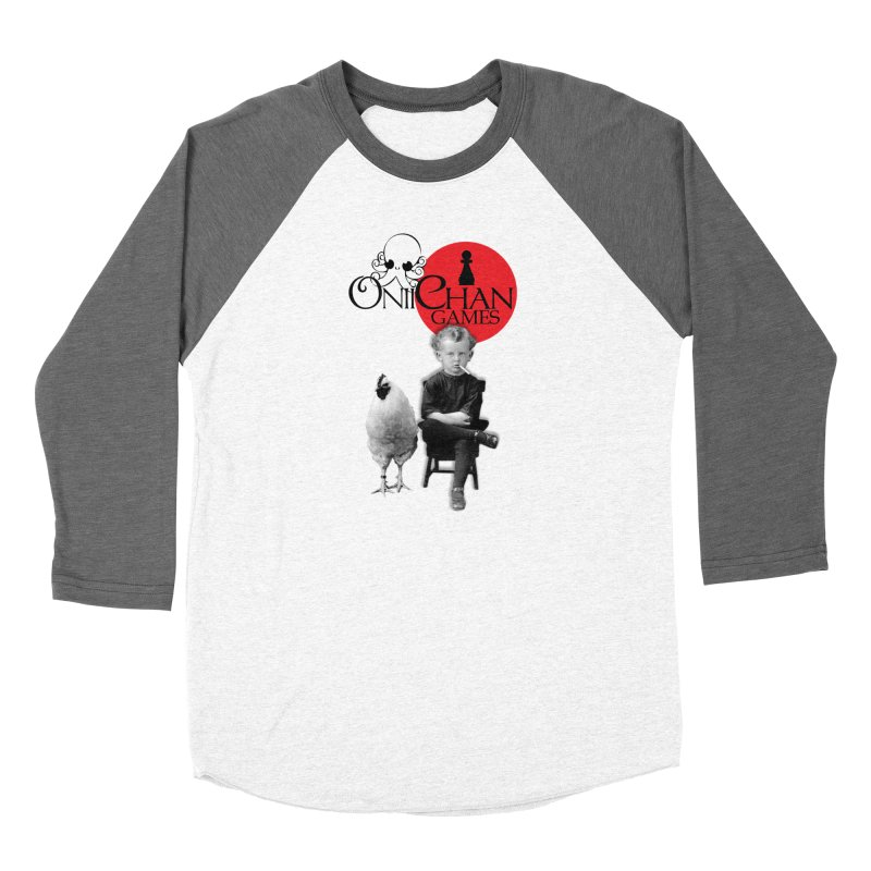 Oniichan Chicken Boy Women's Baseball Triblend Longsleeve T-Shirt by OniiChan's Artist Shop