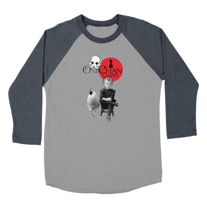 Oniichan Chicken Boy Men's Baseball Triblend T-Shirt by OniiChan's Artist Shop