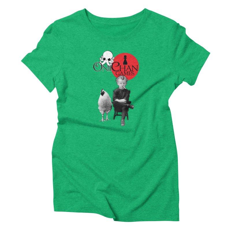 Oniichan Chicken Boy Women's Triblend T-shirt by OniiChan's Artist Shop