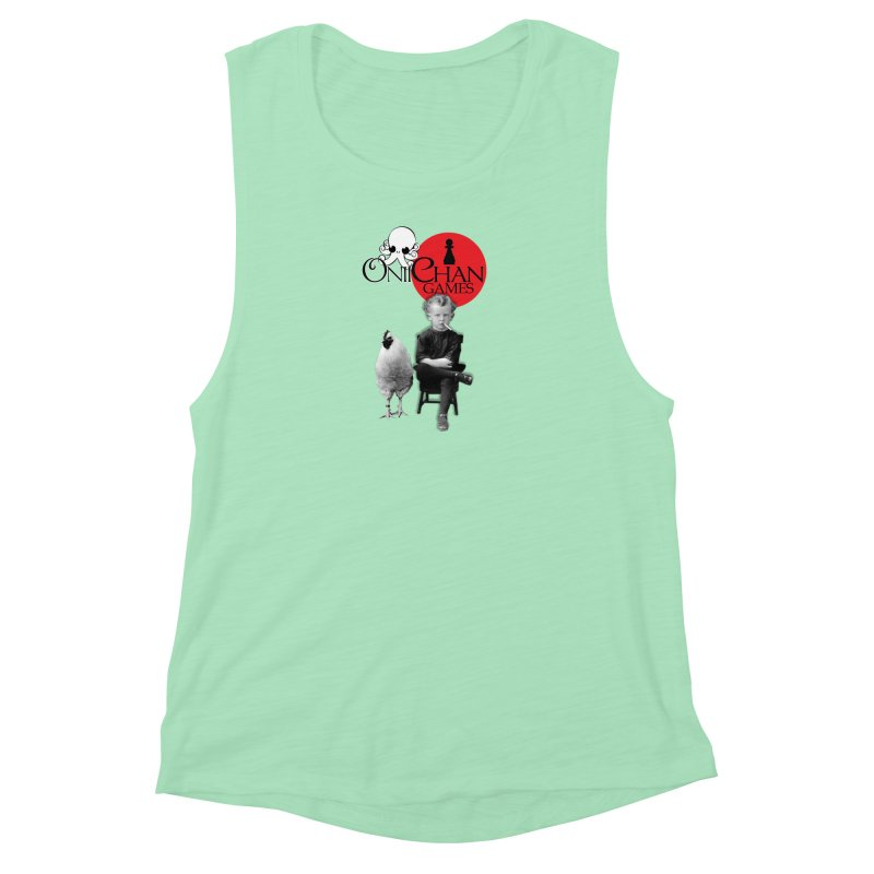Oniichan Chicken Boy Women's Muscle Tank by OniiChan's Artist Shop