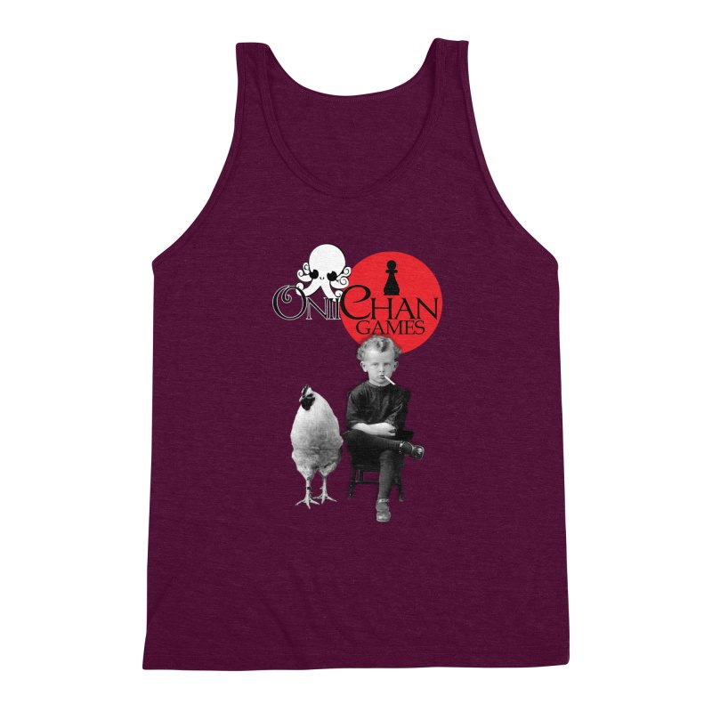 Oniichan Chicken Boy Men's Triblend Tank by OniiChan's Artist Shop