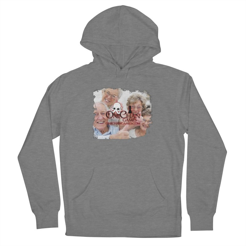 Oldest Fans Women's French Terry Pullover Hoody by OniiChan's Artist Shop