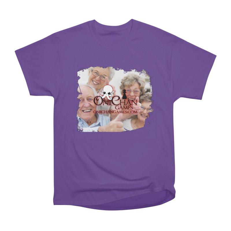 Oldest Fans Women's Heavyweight Unisex T-Shirt by OniiChan's Artist Shop