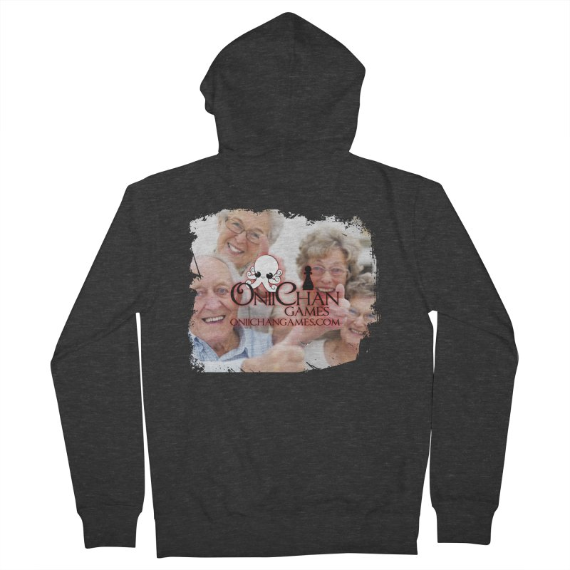 Oldest Fans Women's French Terry Zip-Up Hoody by OniiChan's Artist Shop