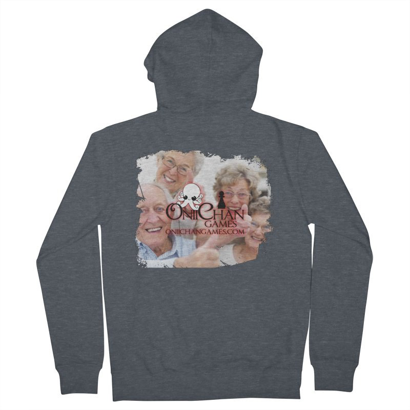 Oldest Fans Men's French Terry Zip-Up Hoody by OniiChan's Artist Shop