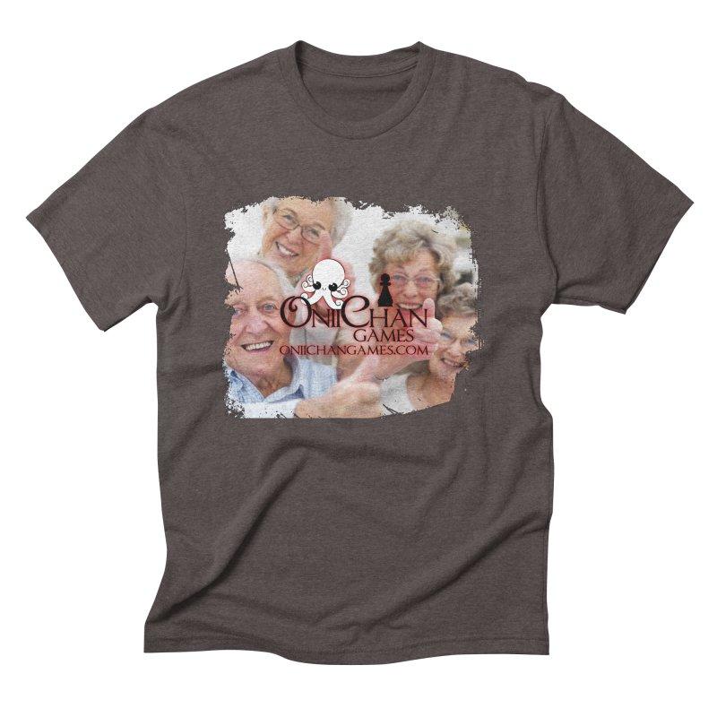 Oldest Fans Men's Triblend T-Shirt by OniiChan's Artist Shop