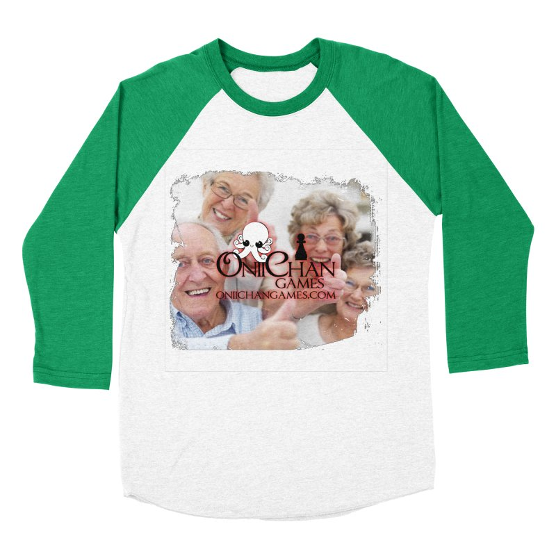 Oldest Fans Women's Baseball Triblend Longsleeve T-Shirt by OniiChan's Artist Shop