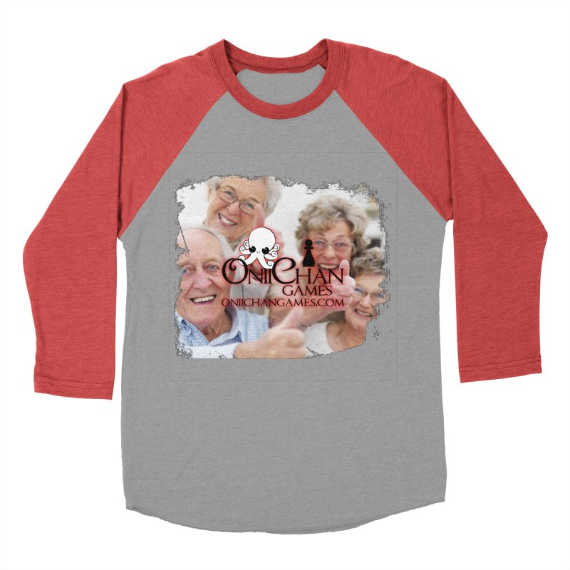 Oldest Fans Women's Baseball Triblend T-Shirt by OniiChan's Artist Shop