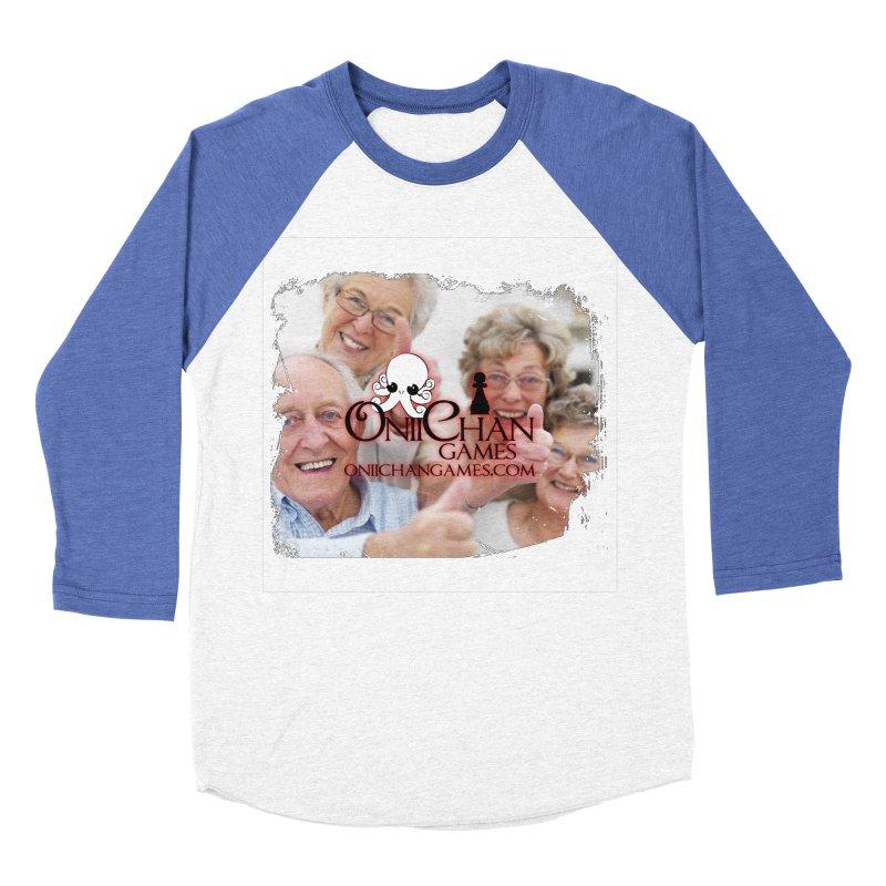 Oldest Fans Men's Baseball Triblend Longsleeve T-Shirt by OniiChan's Artist Shop