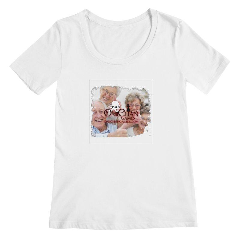 Oldest Fans Women's Scoopneck by OniiChan's Artist Shop