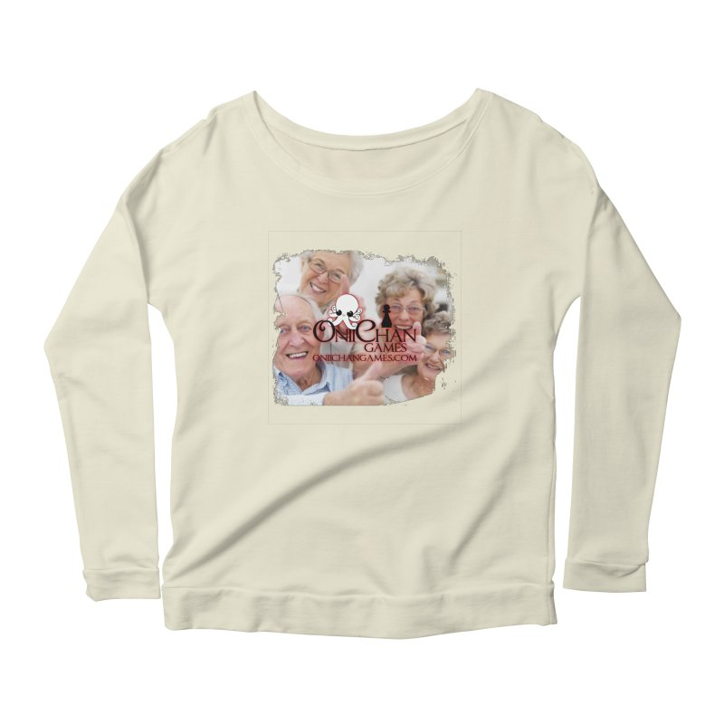 Oldest Fans Women's Longsleeve Scoopneck  by OniiChan's Artist Shop