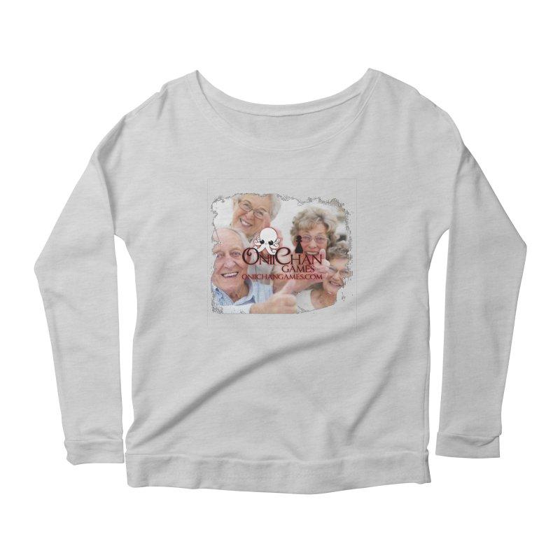 Oldest Fans Women's Longsleeve Scoopneck  by OniiChan's Artist Shop