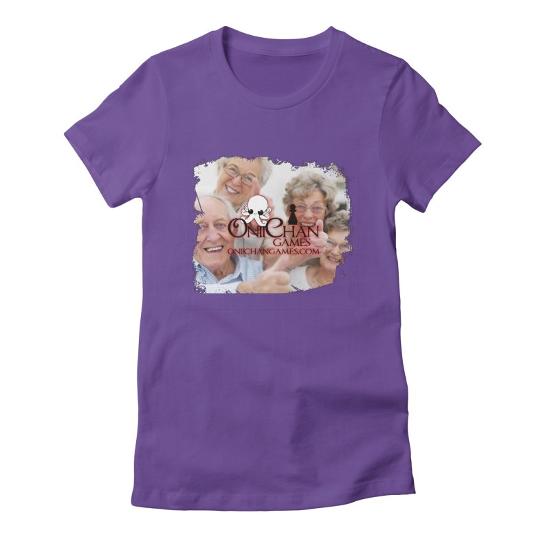 Oldest Fans Women's Fitted T-Shirt by OniiChan's Artist Shop