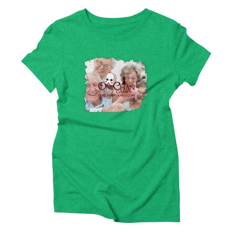 Oldest Fans Women's Triblend T-Shirt by OniiChan's Artist Shop