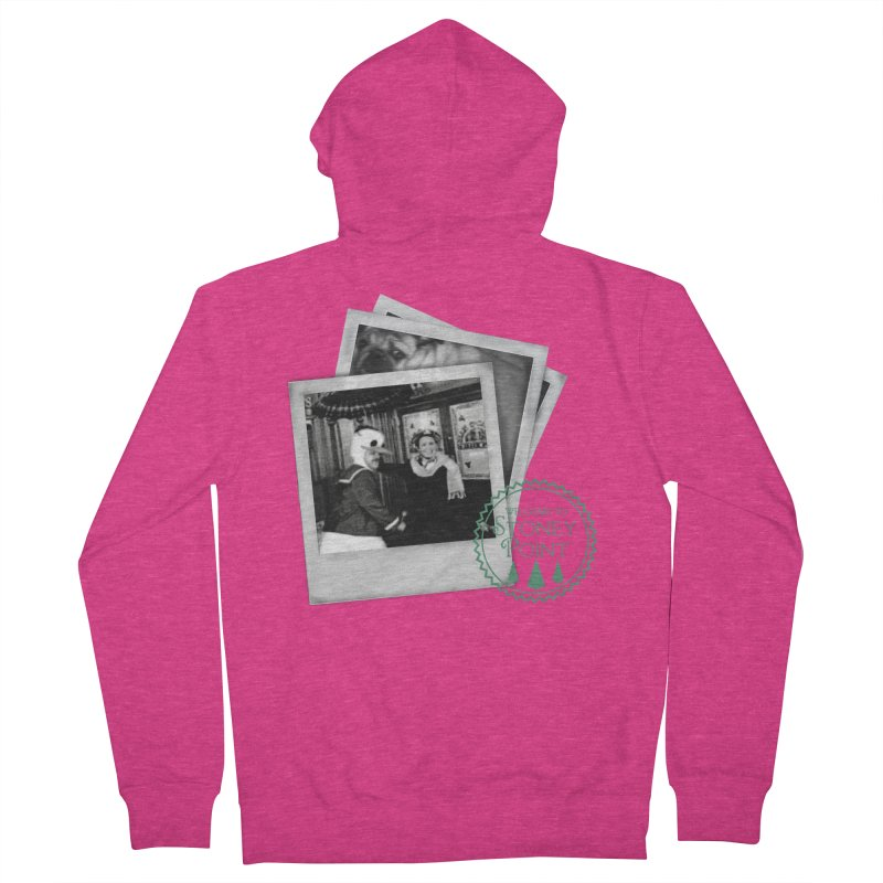 Stoney Point Polaroids Women's French Terry Zip-Up Hoody by OniiChan's Artist Shop