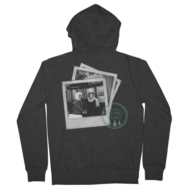 Stoney Point Polaroids Men's French Terry Zip-Up Hoody by OniiChan's Artist Shop