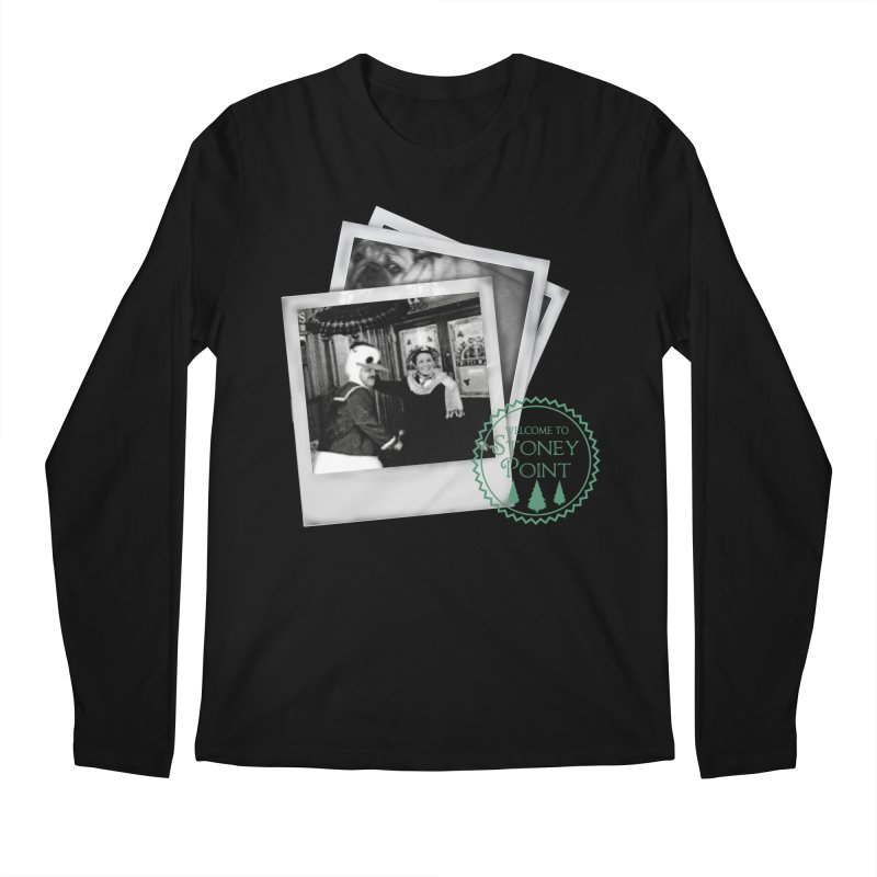 Stoney Point Polaroids Men's Regular Longsleeve T-Shirt by OniiChan's Artist Shop