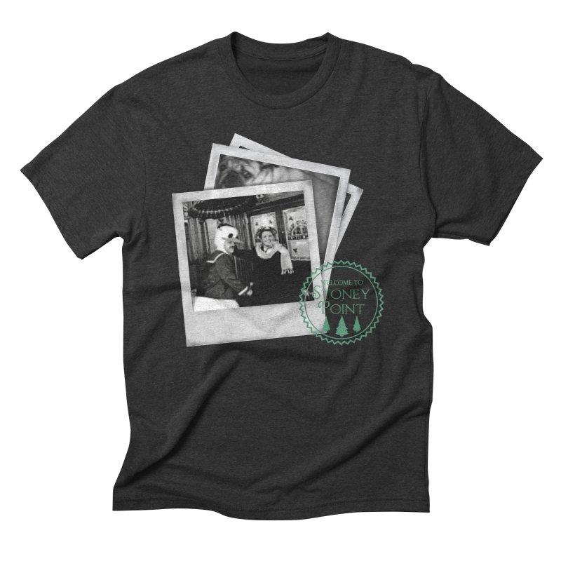 Stoney Point Polaroids Men's Triblend T-Shirt by OniiChan's Artist Shop