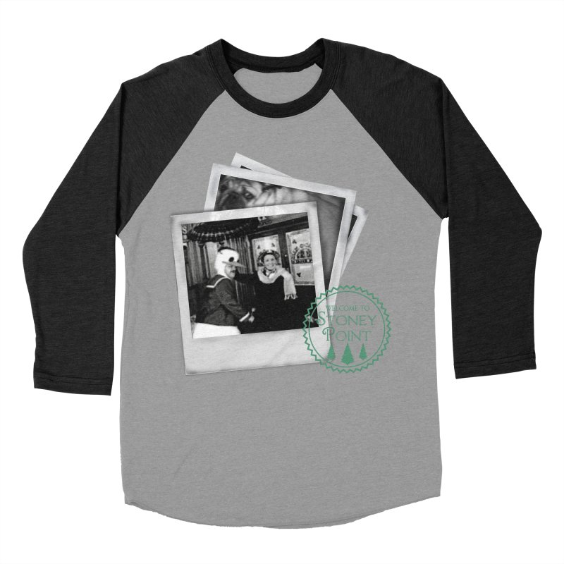 Stoney Point Polaroids Women's Baseball Triblend Longsleeve T-Shirt by OniiChan's Artist Shop