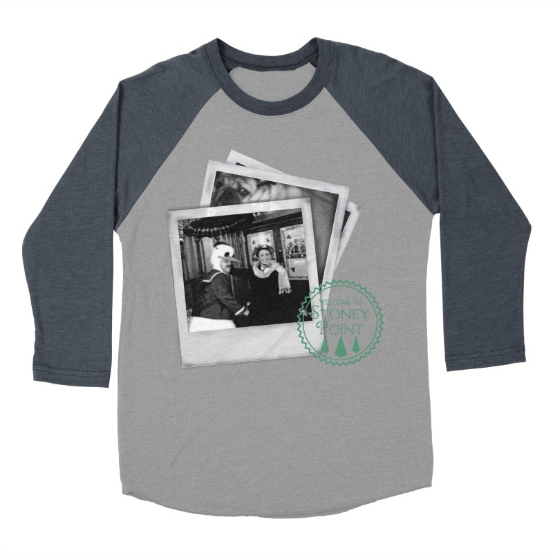 Stoney Point Polaroids Men's Baseball Triblend T-Shirt by OniiChan's Artist Shop