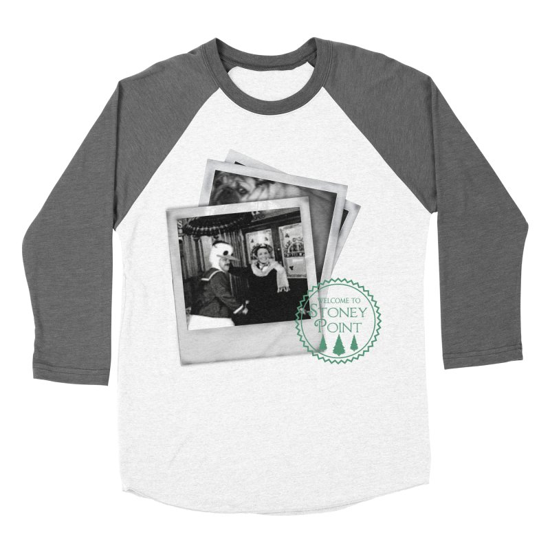 Stoney Point Polaroids Men's Baseball Triblend T-Shirt by OniiChan's Artist Shop