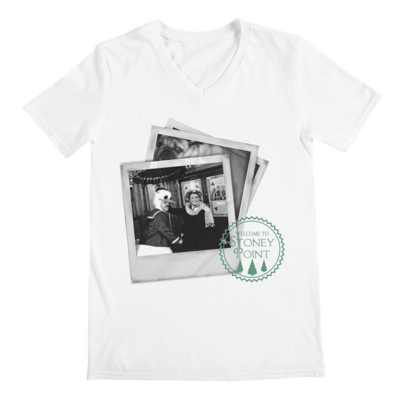 Stoney Point Polaroids Men's V-Neck by OniiChan's Artist Shop