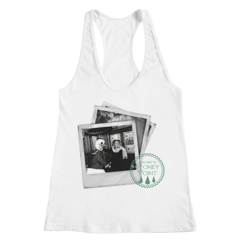 Stoney Point Polaroids Women's Racerback Tank by OniiChan's Artist Shop