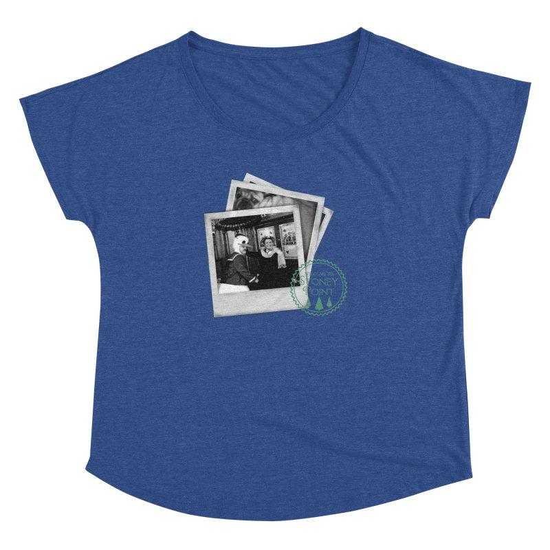 Stoney Point Polaroids Women's Dolman Scoop Neck by OniiChan's Artist Shop