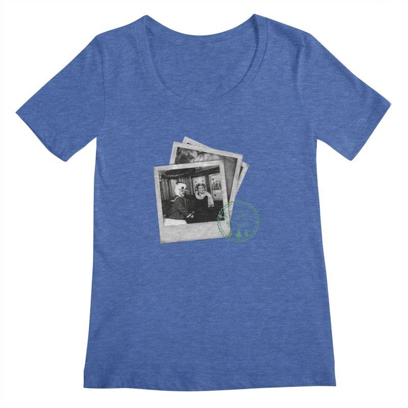 Stoney Point Polaroids Women's Regular Scoop Neck by OniiChan's Artist Shop