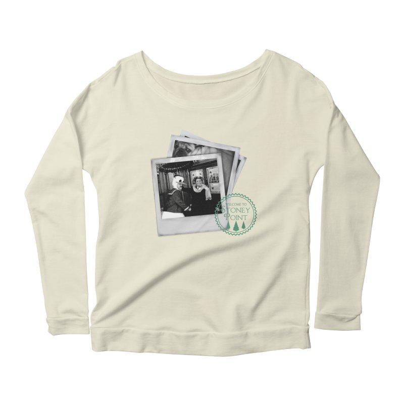 Stoney Point Polaroids Women's Scoop Neck Longsleeve T-Shirt by OniiChan's Artist Shop