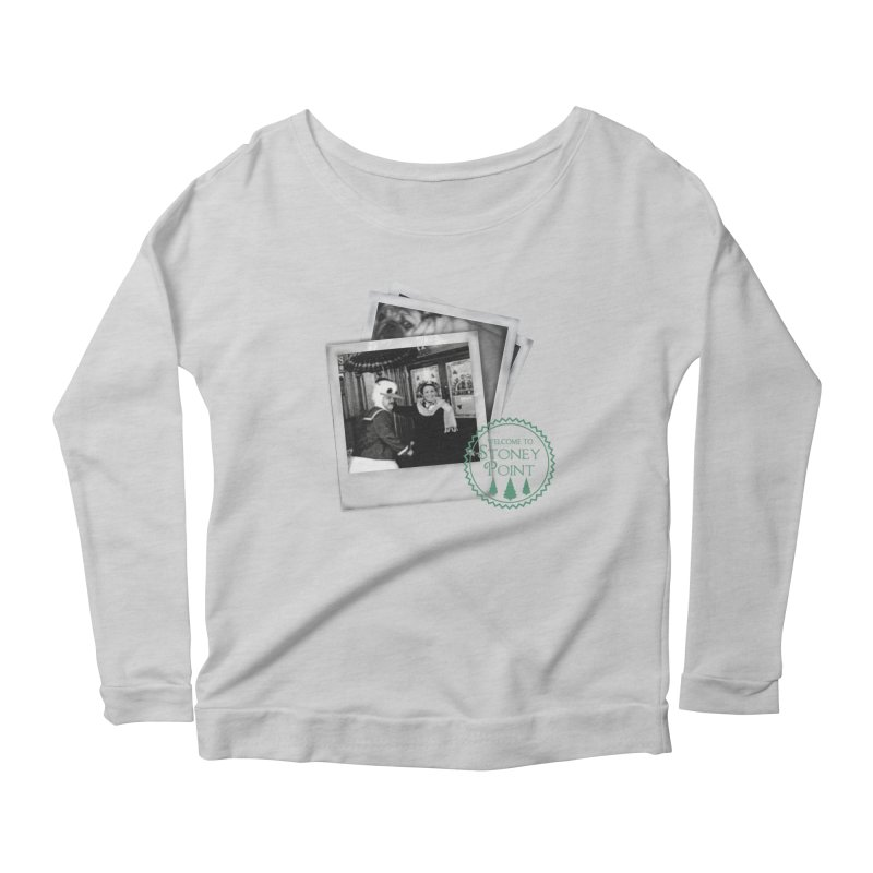 Stoney Point Polaroids Women's Longsleeve Scoopneck  by OniiChan's Artist Shop