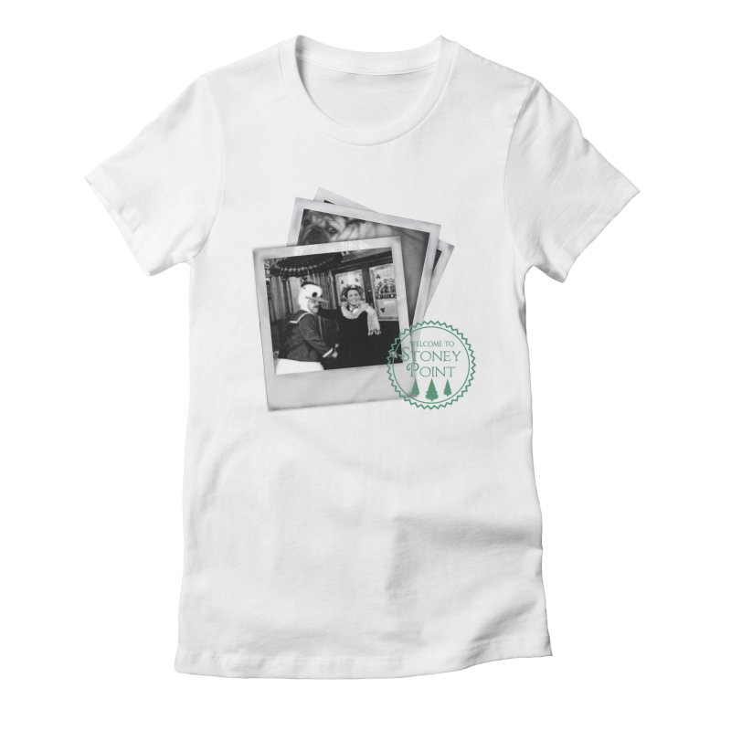 Stoney Point Polaroids Women's Fitted T-Shirt by OniiChan's Artist Shop