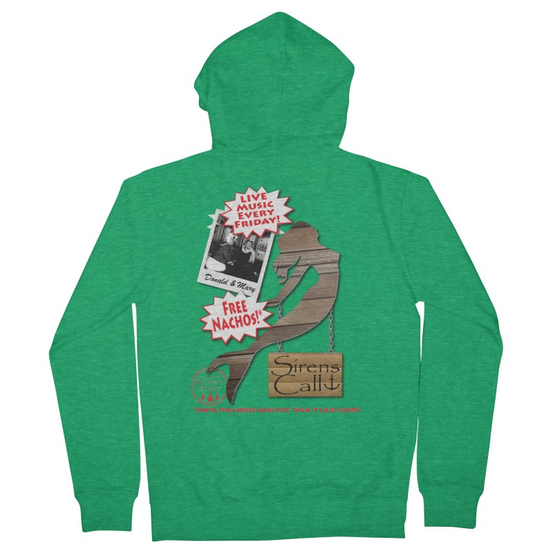 Sirens Call Men's French Terry Zip-Up Hoody by OniiChan's Artist Shop