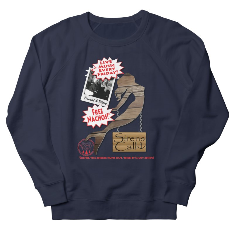 Sirens Call Women's French Terry Sweatshirt by OniiChan's Artist Shop