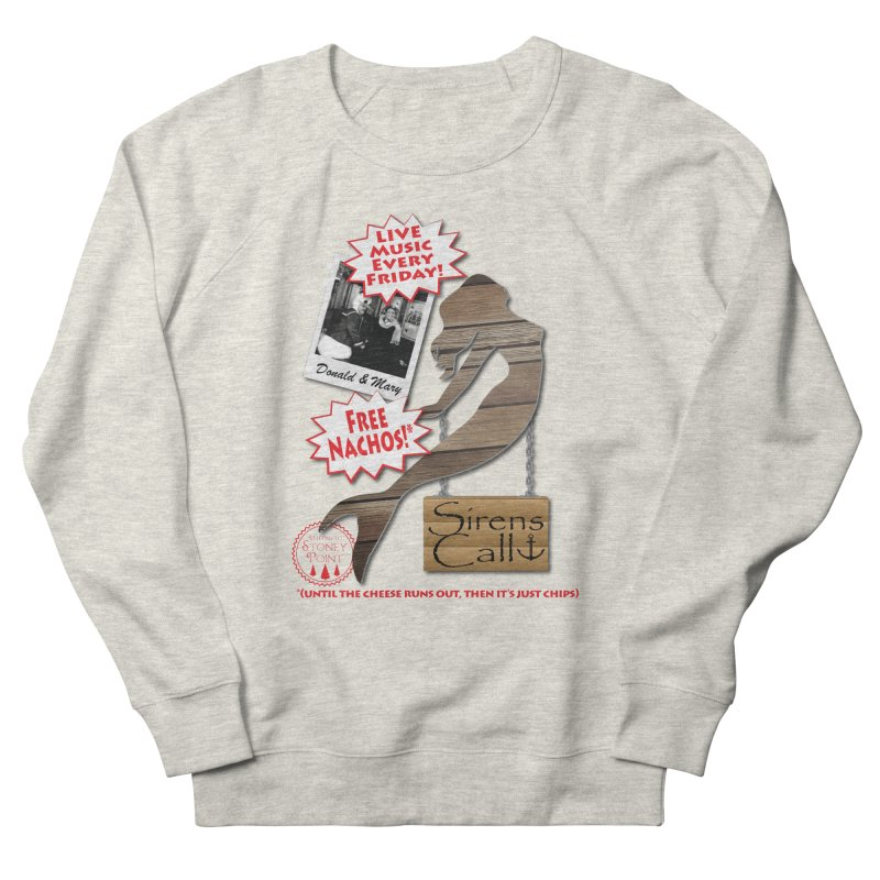 Sirens Call Women's French Terry Sweatshirt by OniiChan's Artist Shop