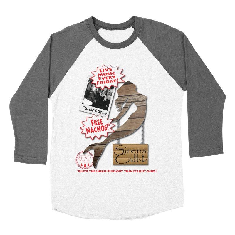 Sirens Call Women's Baseball Triblend Longsleeve T-Shirt by OniiChan's Artist Shop