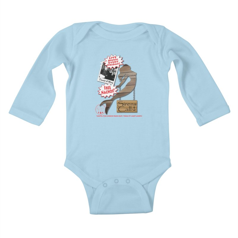 Sirens Call Kids Baby Longsleeve Bodysuit by OniiChan's Artist Shop