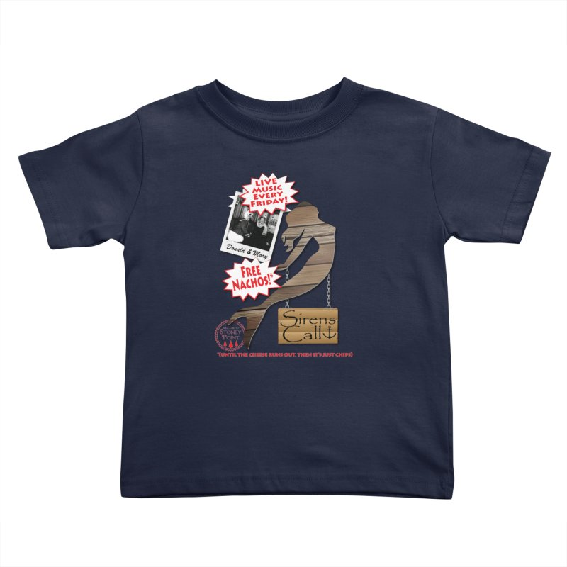 Sirens Call Kids Toddler T-Shirt by OniiChan's Artist Shop