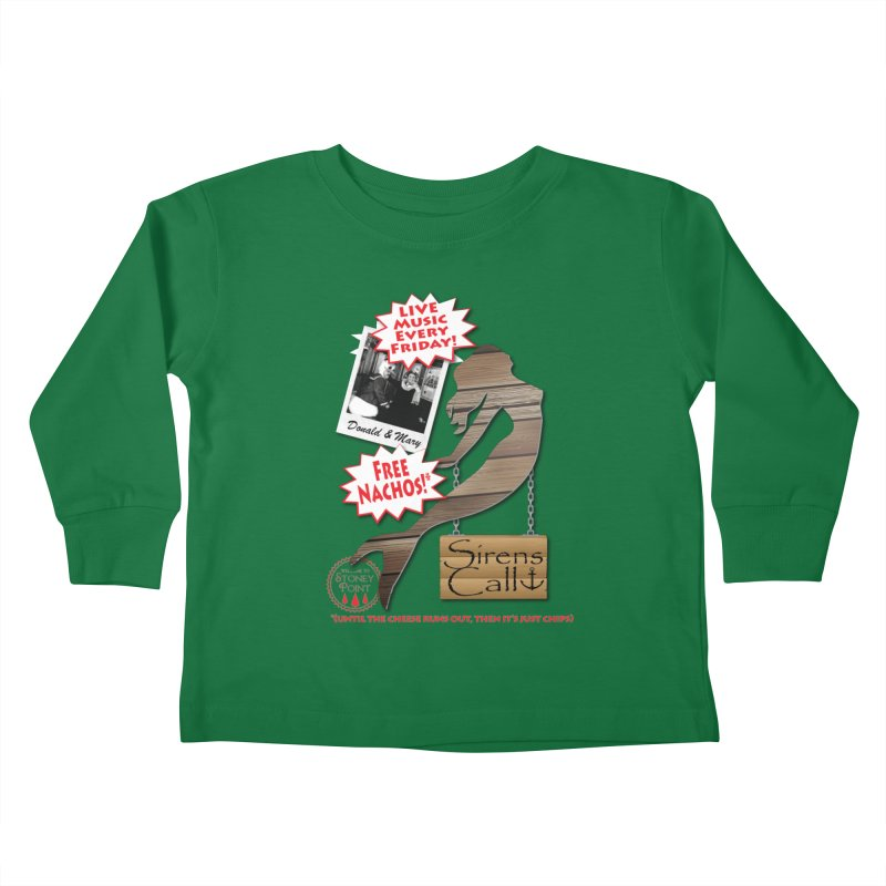 Sirens Call Kids Toddler Longsleeve T-Shirt by OniiChan's Artist Shop