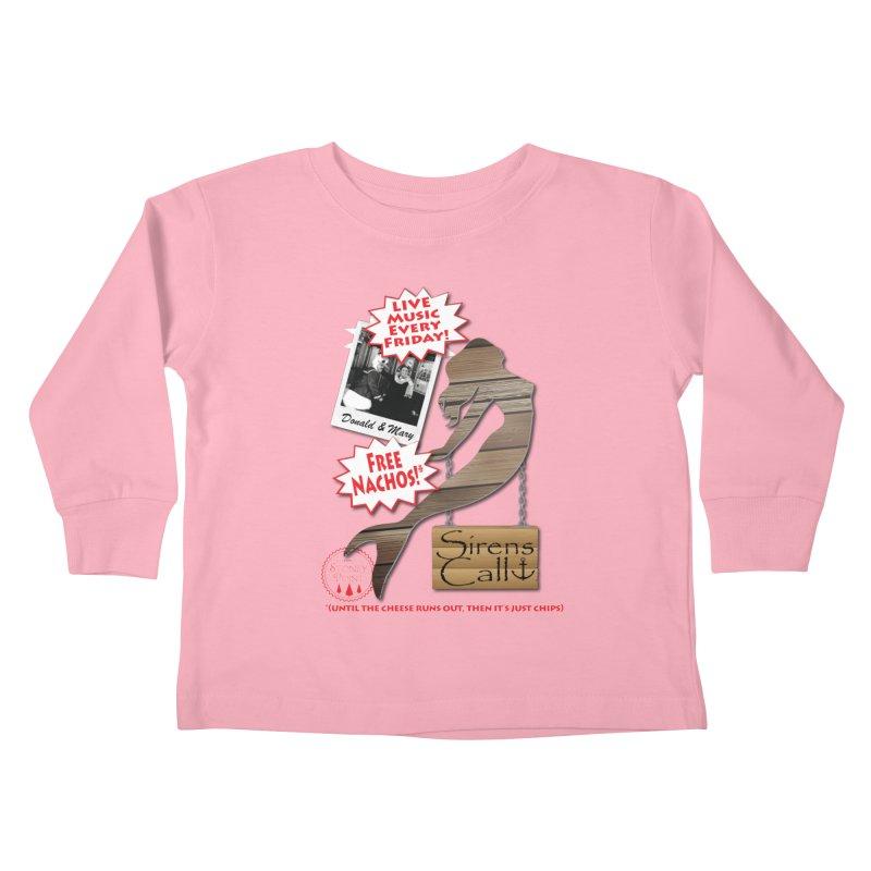 Sirens Call Kids Toddler Longsleeve T-Shirt by OniiChan's Artist Shop